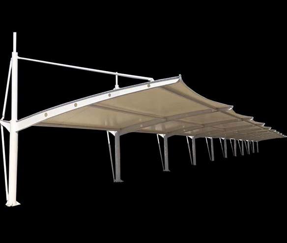 汽车停车棚膜结构